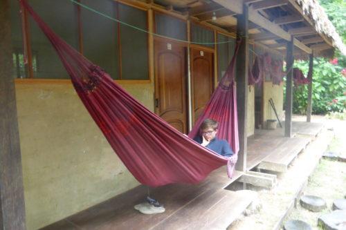 Hammock at Madidi Jungle Lodge