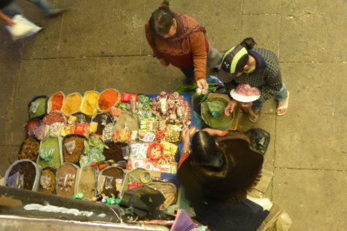 Vendor in Central Market