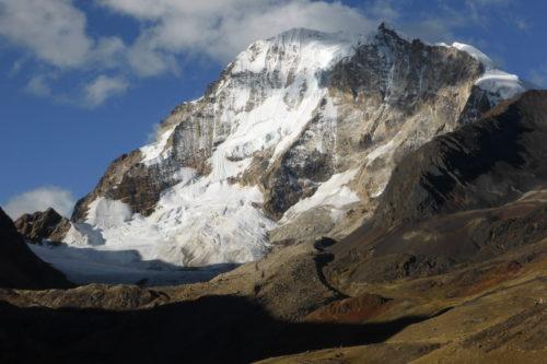 Huayana Potosi mountain
