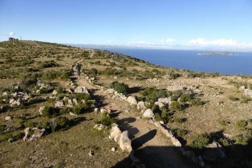 Inca hiking trails on Isla del Sol
