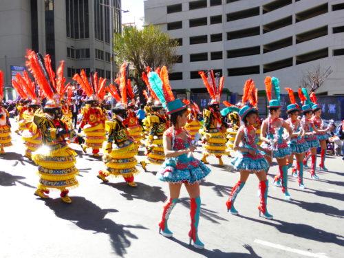 Gran Poder Fiesta parade
