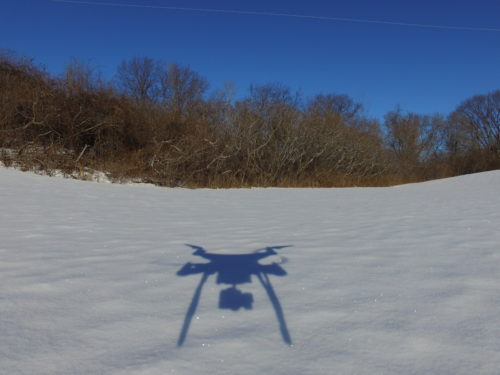 Drone self-portrait