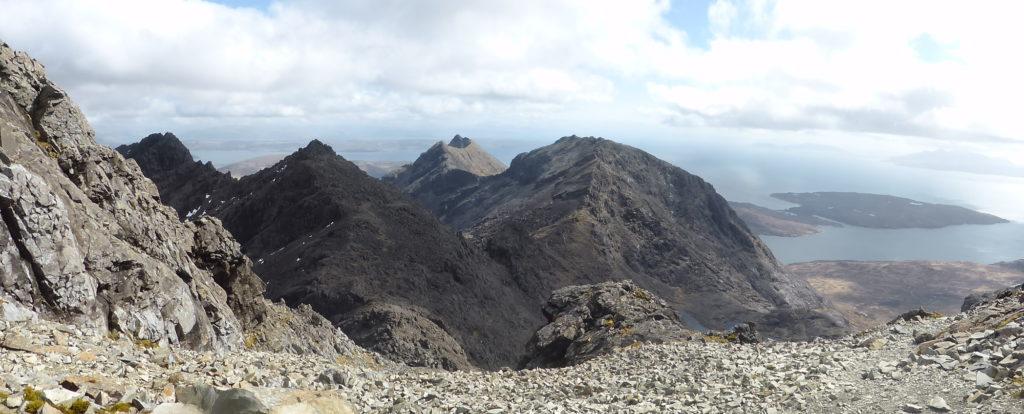Panorama from ridge