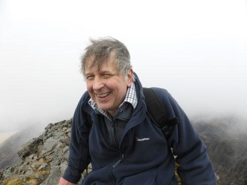 Francis at summit of Sgurr Alisdair